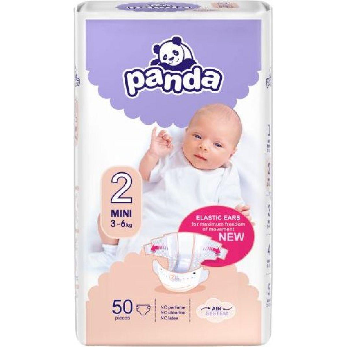 Panda dětské plenky Mini á 50 ks