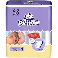 Panda dětské plenky Newborn á 58 ks