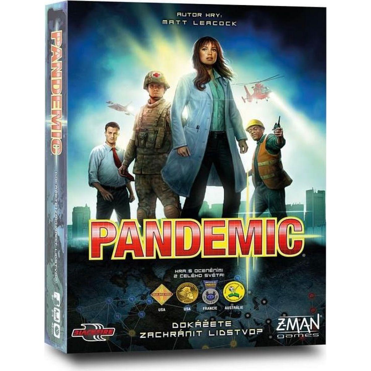 Black Fire Pandemic nové vydání