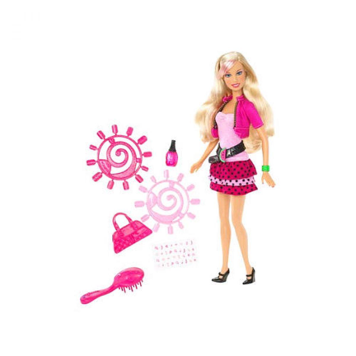 Barbie N4756 - Barbie a doplňky na nehty