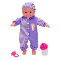 Panenka miminko 30 cm s doplňky modrá 2