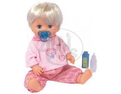 Panenka pije a čůrá
