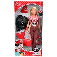 Panenka Steffi Minnie Mouse Urban Style červené doplňky