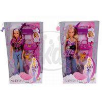 Simba S 5737295 - Panenka Steffi Supermodel purple Lover- fialová košile