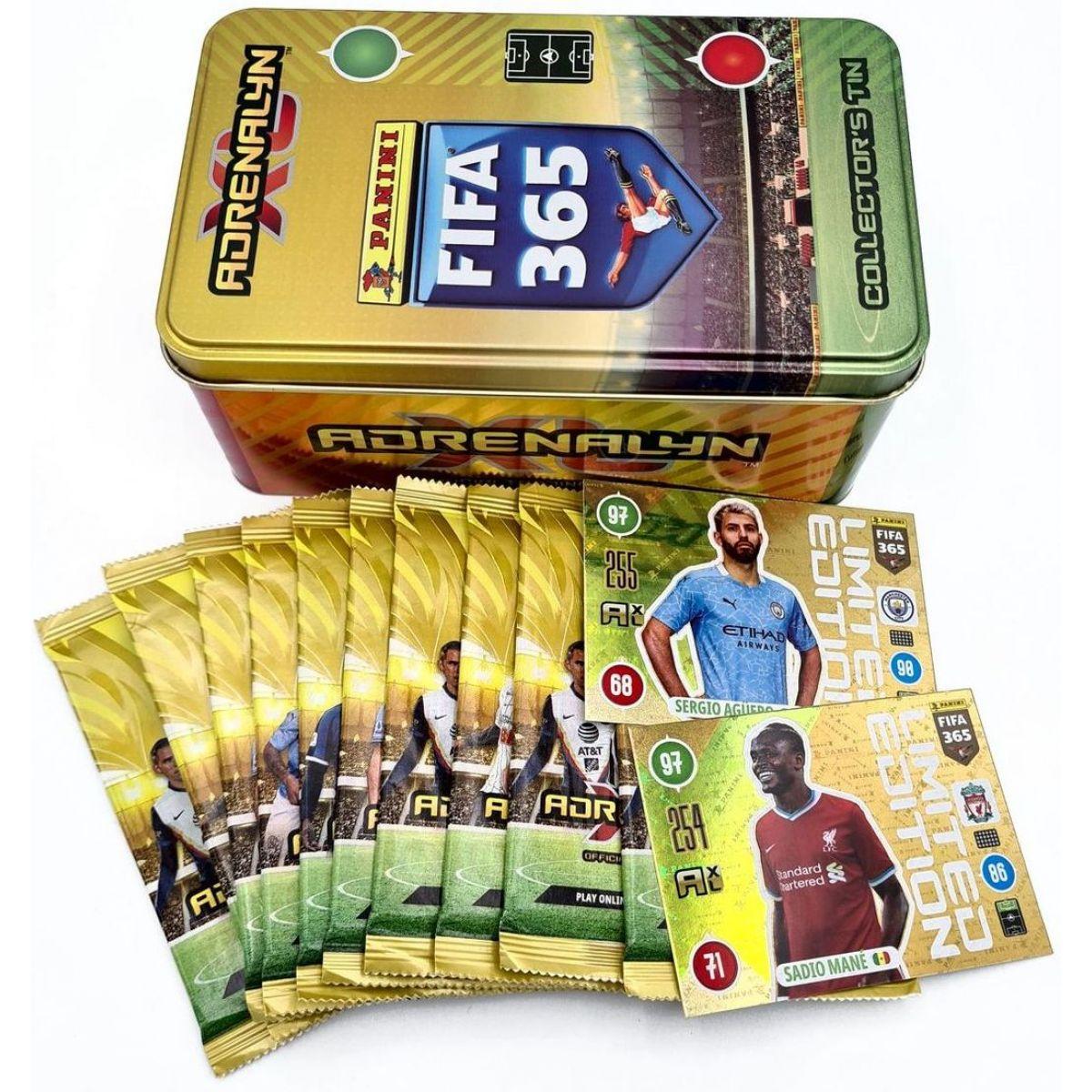 Panini FIFA 365 2020 - 2021 Adreanalyn plechová krabička hranatá
