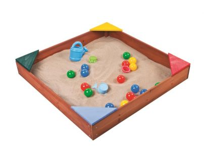 Paradiso Dřevěné pískoviště s podlahou