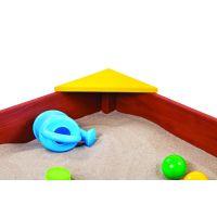 Paradiso Dřevěné pískoviště s podlahou 2