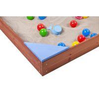 Paradiso Dřevěné pískoviště s podlahou 3