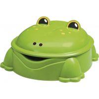 Paradiso Pískoviště Zelené s víkem Žába