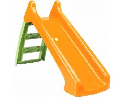 Paradiso Toys Skluzavka malá 104 cm oranžová skluzná plocha