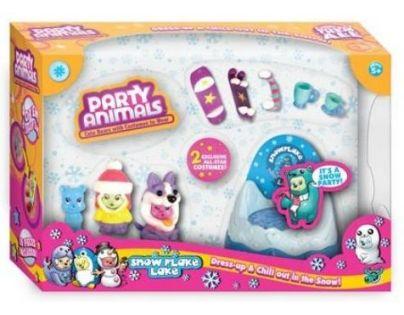 EPline EP01130 - PARTY ANIMALS hrací sada - Párty na sněhu