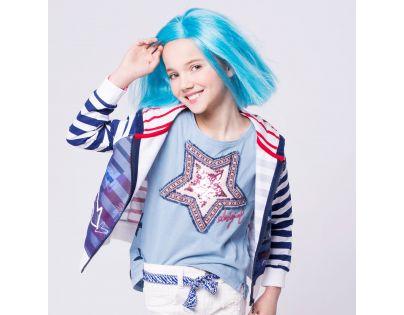 Paruka Lollipopz modrá – Bára