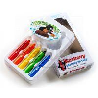 Toy Pastelky do vany Krtek 5 ks s houbičkou