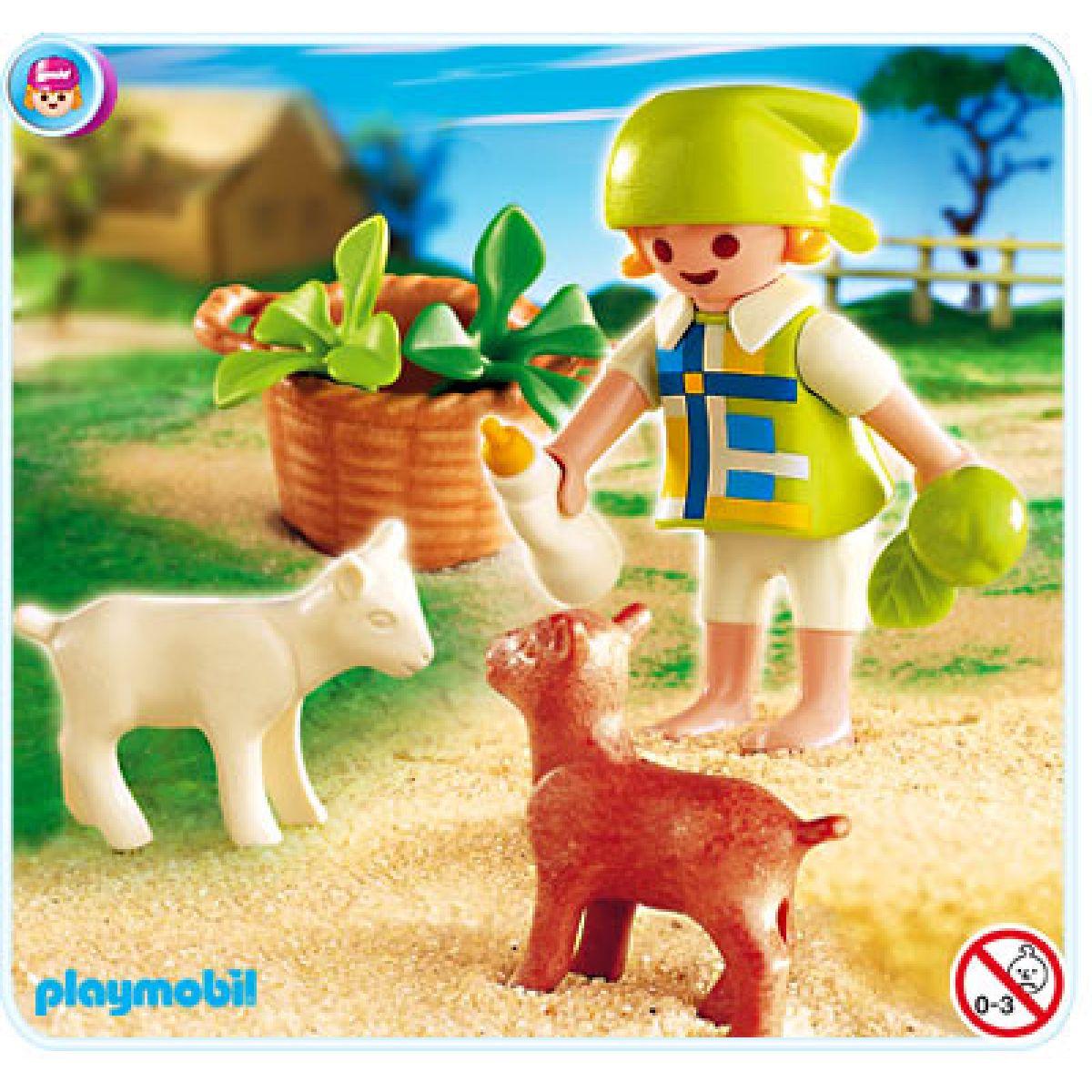 Playmobil 4674 - Pastýřka s kůzlátky