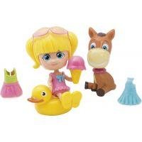 Paula & Friends panenka s doplňky a zvířátkem oslík