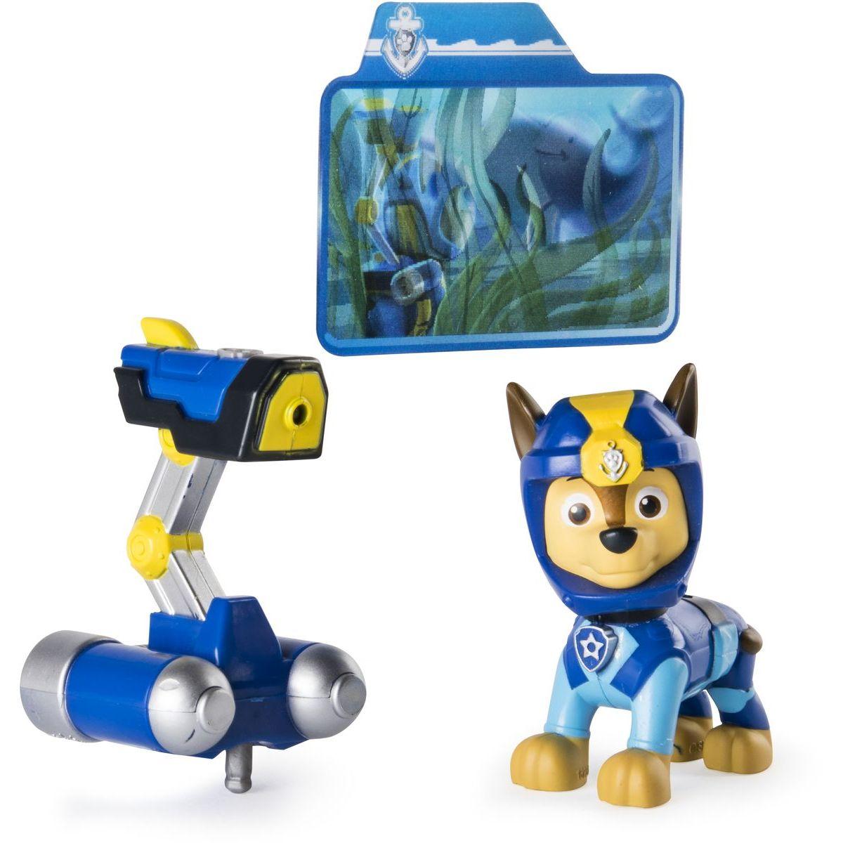 Paw Patrol Figurka Chase pro vodní akce Solid