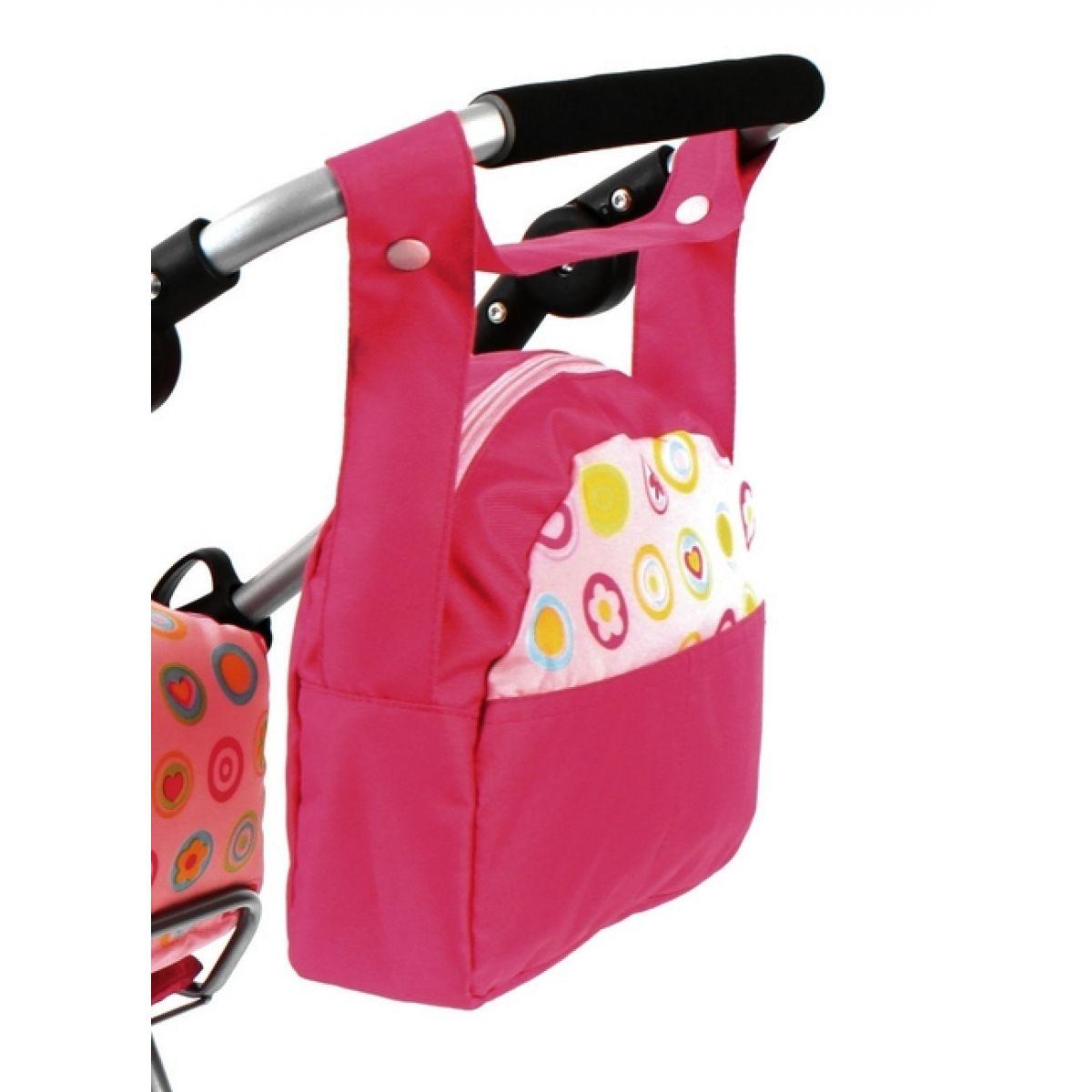 BAYER CHIC 2000 - 85364 - Přebalovací taška ke kočárku pro panenky - Galaxy Pink
