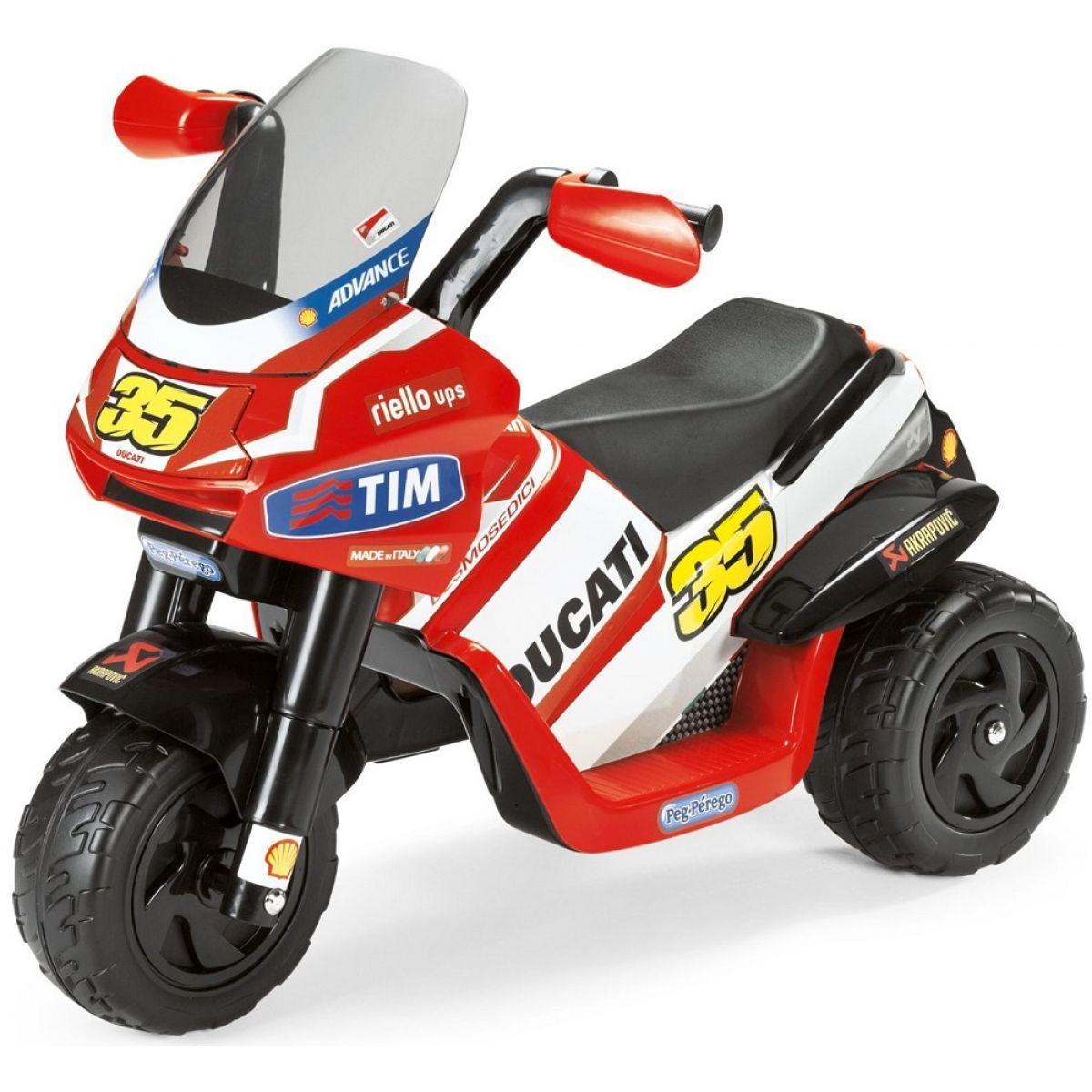 Peg-Pérego Ducati Desmosedici Raider červená