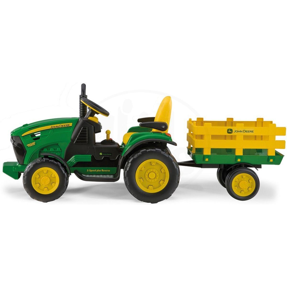 трактор peg perego электромобиль #10