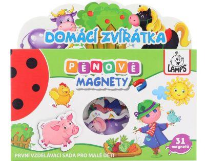 Pěnové magnety Domácí zvířátka