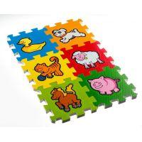 Pěnové puzzle Moje první zvířátka 6ks 2