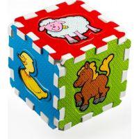 Pěnové puzzle Moje první zvířátka 6ks 3
