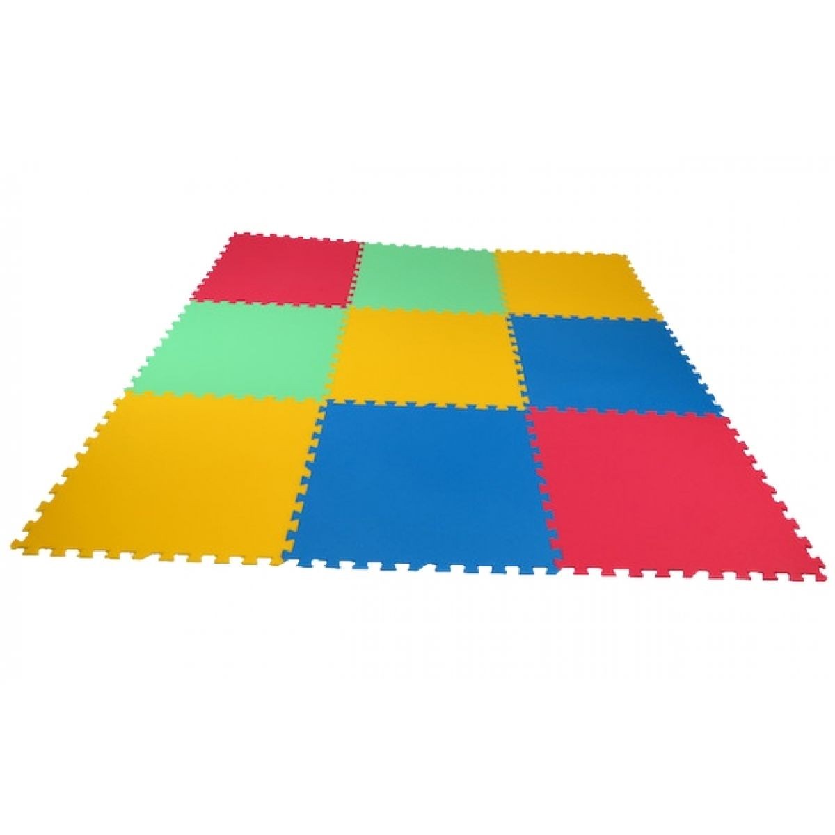 Malý Génius Pěnový koberec 16 mm XL 9 dílků pevný