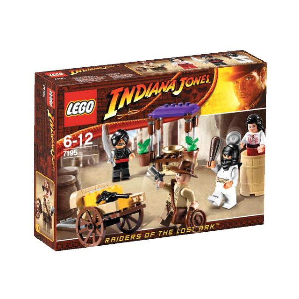 Přepadení v Káhiře Indiana Jones LEGO 7195