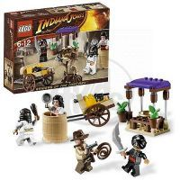 Přepadení v Káhiře Indiana Jones LEGO 7195 2