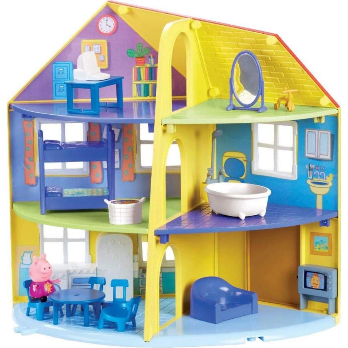 Peppa Pig Rodinný dom s príslušenstvom