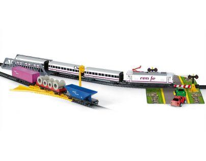 Nákladní a osobní vlak Tren + Renfe (Pequetren 905)