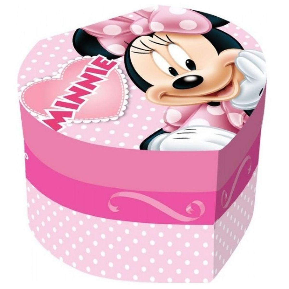 Šperkovnice Minnie srdce