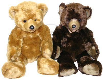 Petra Toys Plyšový medvěd 61 cm sedící