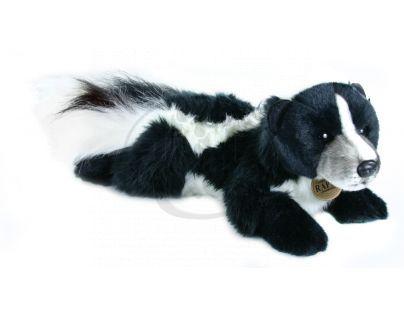 Petra Toys Plyšový skunk ležící 26 cm