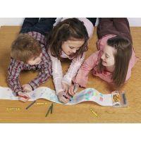 Doodle roll Kreativní sada s pastelkami 4 ks 4