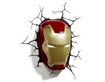 Philips Avengers 3D světlo na zeď Iron Man