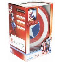 Philips Avengers 3D světlo na zeď Štít Capitain America 2