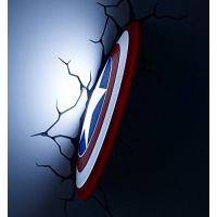Philips Avengers 3D světlo na zeď Štít Capitain America 3