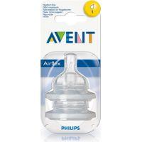 Philips Avent Dudlík Classic 1 otvor 2ks 2