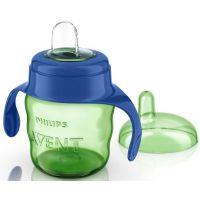 Philips Avent Hrneček pro první doušky Classic 200 ml - Modro-zelená