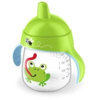 Philips Avent Hrneček pro první doušky Premium 260 ml Žába