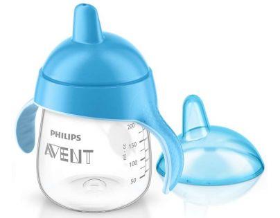 Philips Avent Hrneček pro první doušky Premium 260 ml - Modrá