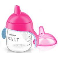 Philips Avent Hrneček pro první doušky Premium 260 ml - Růžová