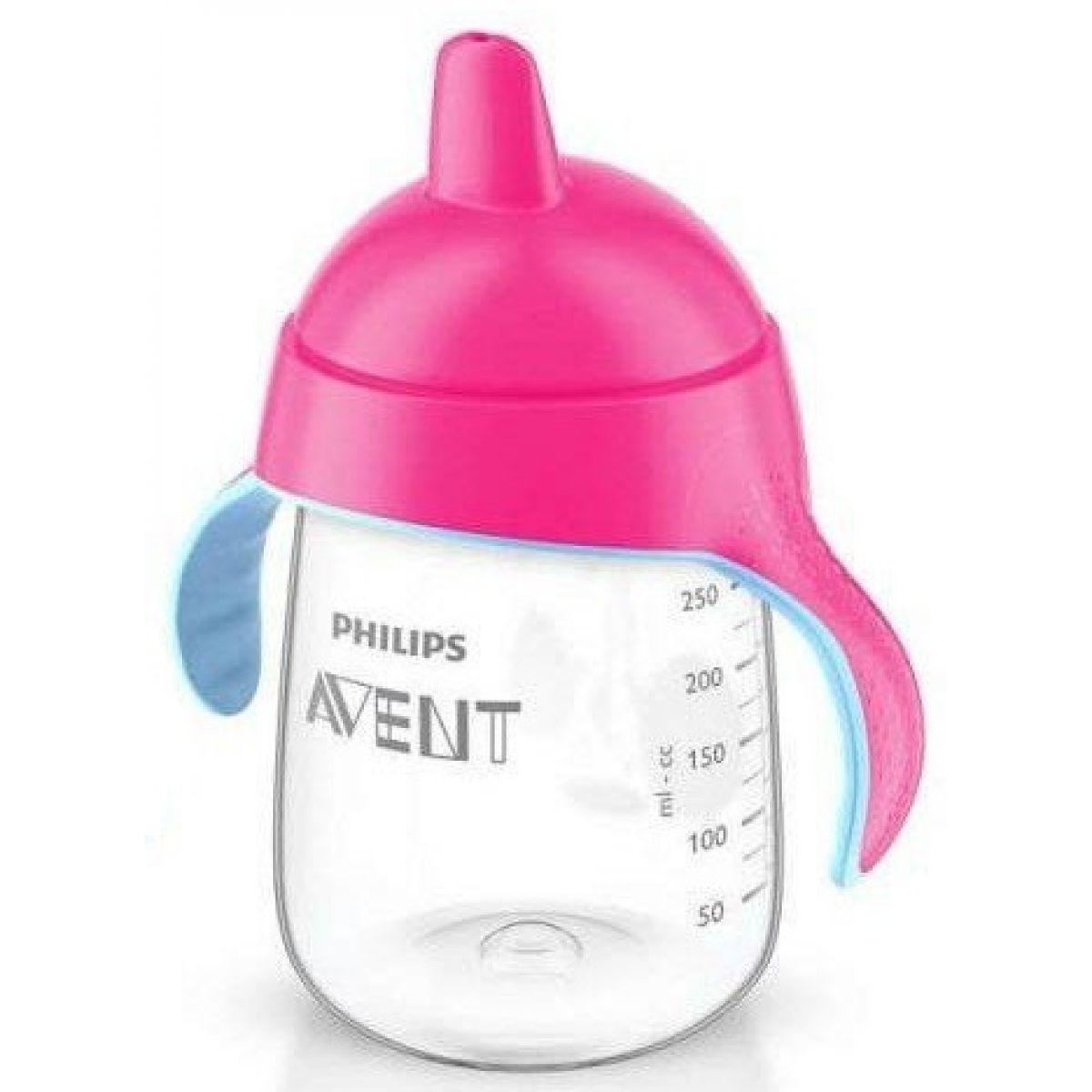 Philips Avent Hrneček pro první doušky Premium 340 ml - Růžová