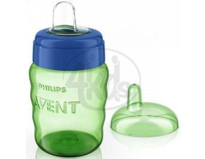 Philips Avent Hrneček pro první doušky Classic 260 ml - Modro-zelená