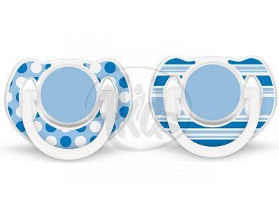 Philips Avent Šidítko Exclusive 6 -18m 2ks - Modrá