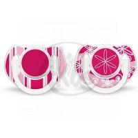 Philips Avent Šidítko Exclusive 6 -18m 2ks - Růžová