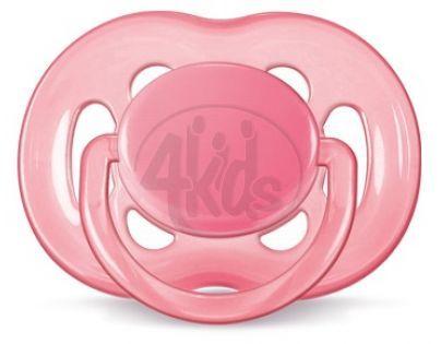 Philips Avent Šidítko Sensitive 6 - 18m - Růžová