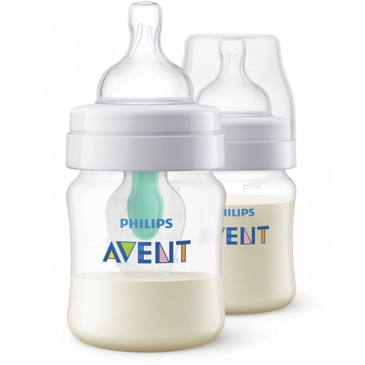 Philips Avent Láhev Anti-colic 125 ml s ventilem AirFree 2 ks