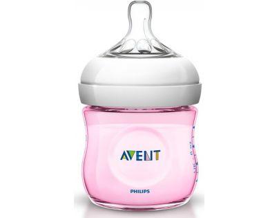 Philips Avent Láhev Natural 125 ml růžová